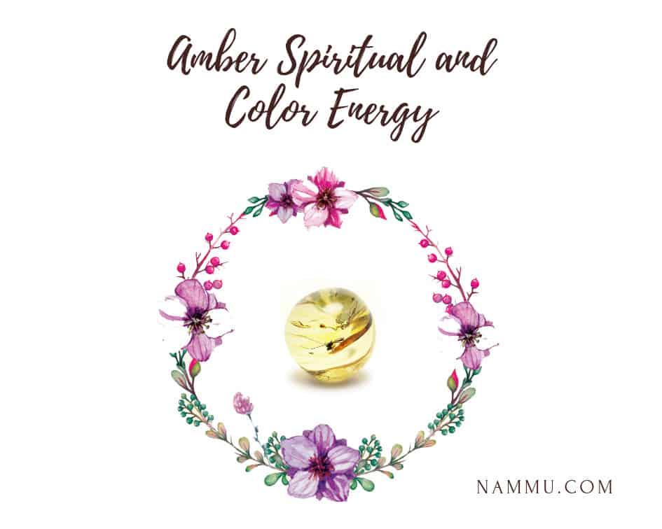 amber healing properties