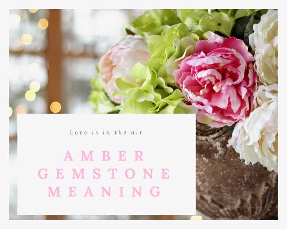 amber gemstone meaning