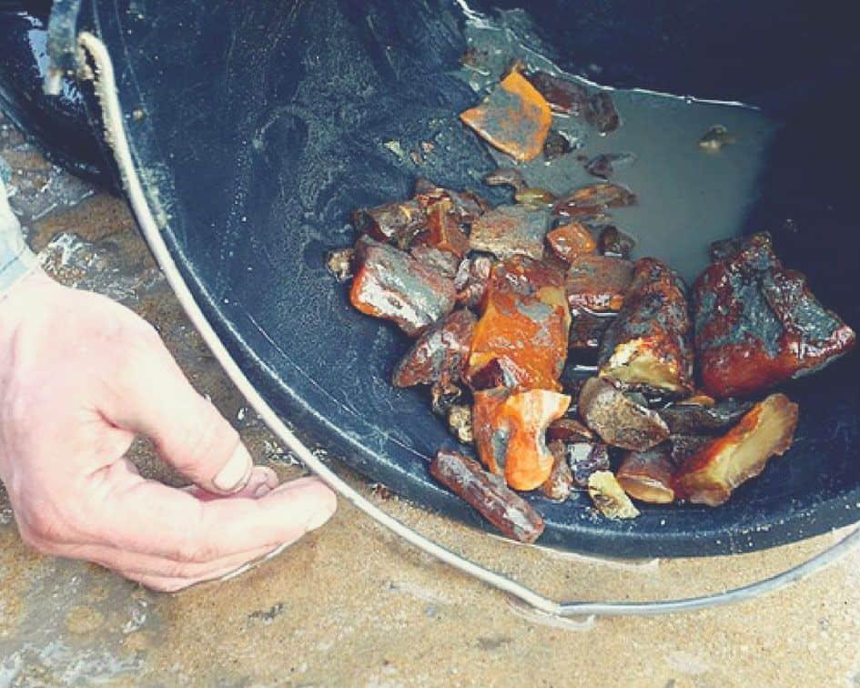 amber mining