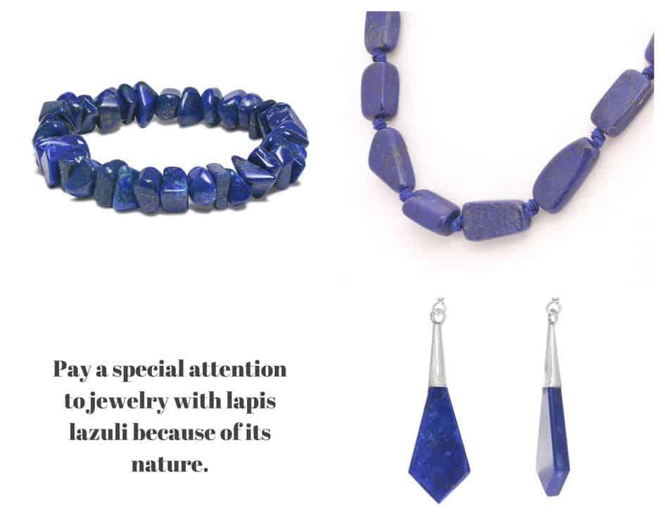 lapis lazuli care cleaning