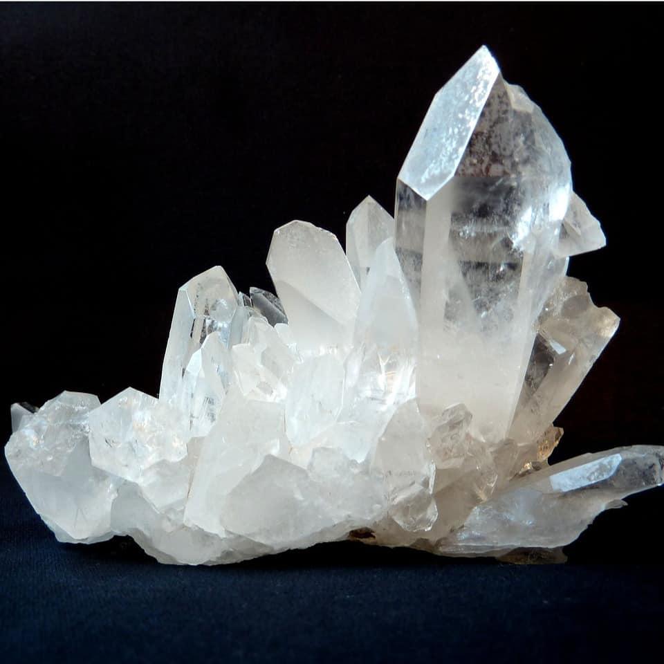 cuarzo cristal drusa